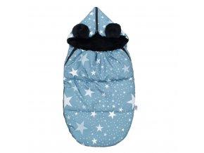 Luxusní fusak New Baby Hvězdičky