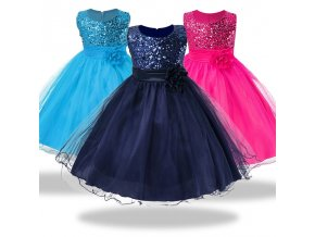 1 14 yrs teenagers Girls Dress Wedding Party Princess Christmas Dresse for girl Party Costume Kids 1