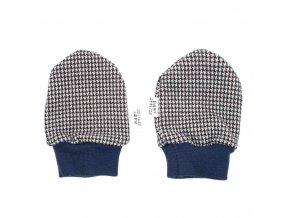 Zimní kojenecké rukavičky Baby Service Retro, vel. 0-6m