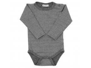 Zimní kojenecké body Baby Service Retro, vel. 56 (0-3m)