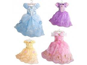 2018 Girls Summer Dress Kids Cindrella Snow White Cosplay Costume Baby Girl Princess Dress Rapunzel Aurora 1