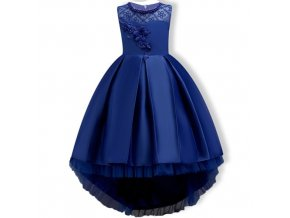 Summer Kids Formal Dress For Girls Clothes Flower Pageant Birthday Party Princess Dress Girl Clothes 14 as pictrue (1)