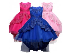 Summer Kids Formal Dress For Girls Clothes Flower Pageant Birthday Party Princess Dress Girl Clothes 14 1 (1)