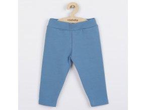Kojenecké bavlněné legíny New Baby modré, vel. 74 (6-9m)