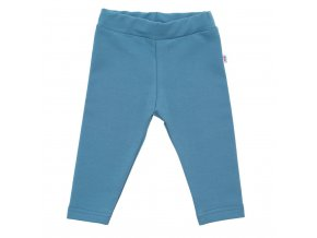 Kojenecké bavlněné legíny New Baby modré, vel. 80 (9-12m)