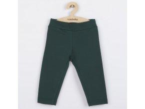 Kojenecké bavlněné legíny New Baby Leggings tmavě zelené, vel. 92 (18-24m)