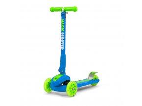 Dětská koloběžka Milly Mally Magic Scooter blue-green