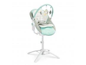 Dětská jídelní židlička 3v1 Caretero Kivi blue