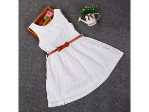 Dresses Children Baby Kids Girls Clothes Lace Hollow Out Sleeveless Cool Princess Summer Dress Clothes Kid 1