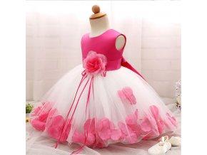 Květinové šaty s bohatou sukní