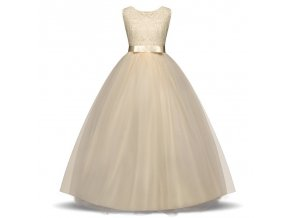 My Baby Girl Clothing Wedding Party Princess Dress for Girls 11 Years Prom Gown Teenager Children As Photo (13)