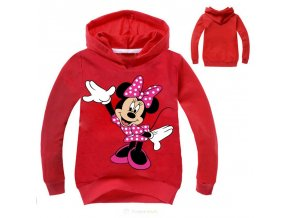 Child Sweatshirt Girls Hoodies Kids Cartoon Mickey Minne Printed Autumn Boys Hoodies Teenage Girl Clothing Vetement S30071 3