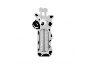 Dětský teploměr do vaničky Akuku Žirafa šedá