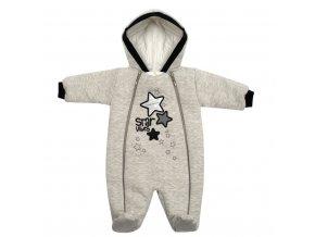 Zimní kojenecká kombinéza s kapucí Koala Star Vibes, vel. 62 (3-6m)