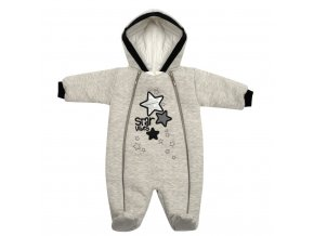 Zimní kojenecká kombinéza s kapucí Koala Star Vibes, vel. 80 (9-12m)