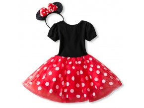 Fancy 1 Year Birthday Party Dress For Halloween Cosplay Minnie Mouse Dress Up Kid Costume Baby 1