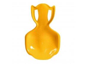Dětský sněžný kluzák BAYO COMFORT LINE XL žlutý
