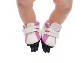 Doll shoes accessories fashion skate fit 43 cm baby born dolls and 18 inch American dolls 1