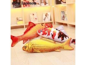 Mon Lapinou Koi Plush Toys Stuffed Soft Fish Doll Soft Koi Pillow Plush Goldfish Cushion Cat 1