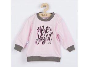 Kojenecké tričko New Baby With Love růžové, vel. 62 (3-6m)