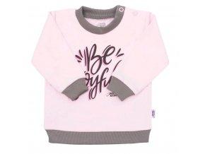 Kojenecké tričko New Baby With Love růžové, vel. 74 (6-9m)
