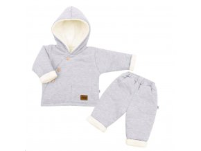 2-dílná zimní kojenecká souprava New Baby Best Winter, vel. 68 (4-6m)