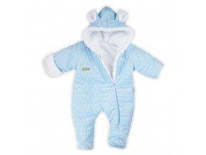 Zimní kojenecký overal Nicol Kids Winter modrý, vel. 68 (4-6m)