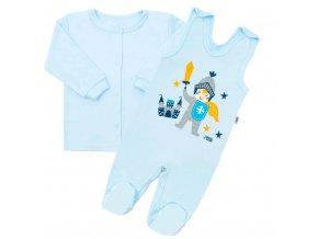 2-dílná kojenecká bavlněná soupravička New Baby Knight, vel. 62 (3-6m)