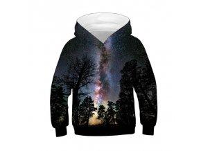 Wolf 3D Print Boys Girls Hoodies Winter Autumn Outerwear Kids Hooded Sweatshirts Childres Long Sleeve Pullover TN00011