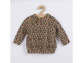 Kojenecké bavlněné tričko Nicol Mia, vel. 68 (4-6m)