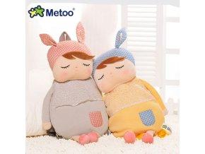 Metoo Kids Baby Bags Animals Cartoon Doll Toy Children Shoulder Bag for Kindergarten Angela Rabbit Girl 1
