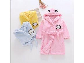 2019 New Soft Children s Robes for 2 6 Years Baby Kids Pajamas Boys Girls Cartoon 6