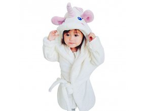 Bathrobes for Girls Unicorn Nightgown Baby Boys Velvet Robes Kids Cartoon Pajamas Children Pokemon Bath Robe 1