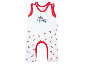 Kojenecké bavlněné dupačky New Baby Cherry, vel. 62 (3-6m)