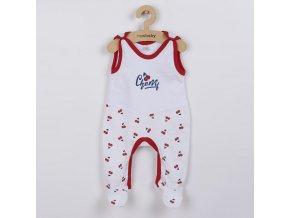 Kojenecké bavlněné dupačky New Baby Cherry, vel. 74 (6-9m)