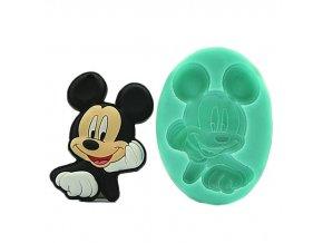 Silikonová formička na pečení Mickey Mouse
