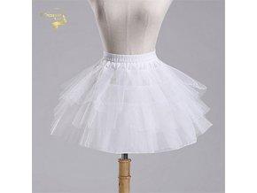 Spodnička (krinolína) krátká pro dětské šaty a tutu sukně