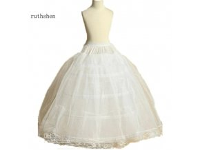 Spodnička (krinolína) 4 obruče pro slavnostní dětské šaty