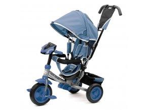 Dětská tříkolka s LED světly Baby Mix Lux Trike modrá