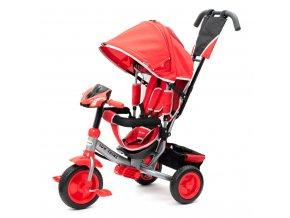 Dětská tříkolka s LED světly Baby Mix Lux Trike červená