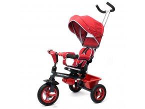 Dětská tříkolka Baby Mix 5v1 RIDER 360° bordó