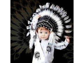 Dětská indiánská čelenka