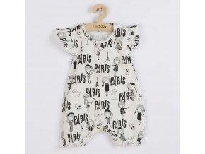 Kojenecký letní bavlněný overal New Baby Paris, vel. 56 (0-3m)