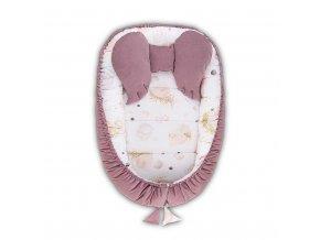 Hnízdečko pro miminko Velvet Belisima Bubbles