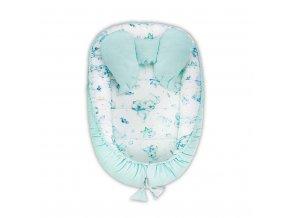 Hnízdečko pro miminko Velvet Belisima Sleeping bears