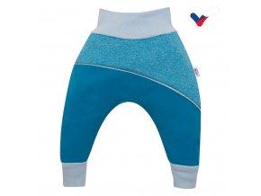 Softshellové kojenecké kalhoty New Baby modré, vel. 86 (12-18m)