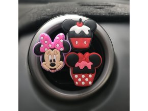 Car Air Freshener Cartoon Minnie Auto Accessories Mickey Auto Accessories Clip Air Conditioning Breathable Perfume 5