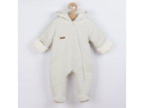 Zimní kojenecký overal Nicol Michelle, vel. 56 (0-3m)
