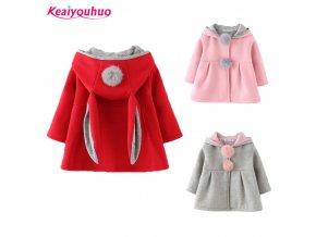 New 2019 children hoodies girls kids Girls jacket Children s Coat Fashion Girls Coat girls warm 2 (1)