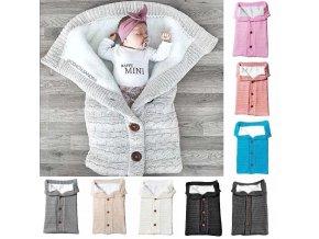 Newborn Baby Winter Warm Sleeping Bags Infant Button Knit Swaddle Wrap Swaddling Stroller Wrap Toddler Blanket.jpg Q90.jpg